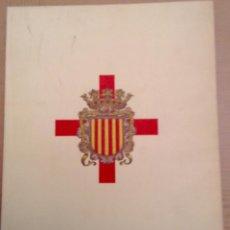 Militaria: REAL CUERPO DE LA NOBLEZA ANTIGUO BRAZO MILITAR DEL PRINCIPADO DE CATALUÑA 1972. Lote 68584137