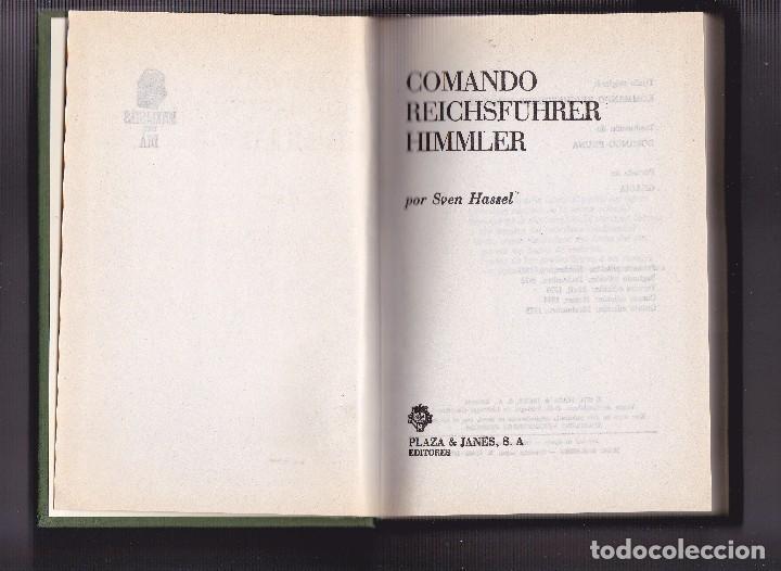 SVEN HASSEL - COMANDO REICHSFÜRER HIMMLER (Militar - Libros y Literatura Militar)