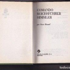Militaria: SVEN HASSEL - COMANDO REICHSFÜRER HIMMLER. Lote 68678085