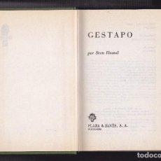 Militaria: SVEN HASSEL - - GESTAPO -. Lote 68678393