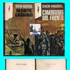 Militaria: CAMARADAS DEL FRENTE MONTE CASSINO GESTAPO GENERAL SS - SVEN HASSEL - PLAZA & JANES. Lote 70014617