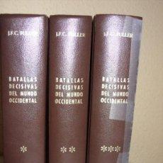 Militaria: BATALLAS DECISIVAS DEL MUNDO OCCIDENTAL. Lote 70342773