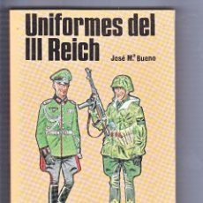 Militaria: UNIFORMES DEL III REICH SAN MARTIN. Lote 70571721