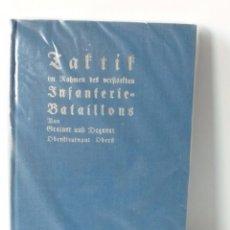 Militaria: LIBRO DEL INFANTERIE BATALLONS DE LA SEGUNDA GUERRA MUNDIAL. 1940. Lote 71613647