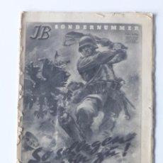Militaria: ORIGINAL. REVISTA DE GRAN TAMAÑO DE LA SEGUNDA GUERRA MUNDIAL. 1939 - 1945. Lote 71615131