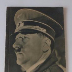 Militaria: LIBRO ORIGINAL DE ADOLF HITLER CON MUCHAS FOTOS. 1940. Lote 71796403