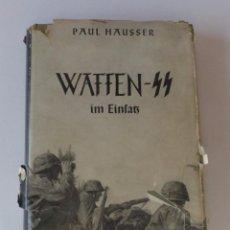 Militaria: LIBRO ORIGINAL DE LA WAFFEN SS. 1953. Lote 71797555