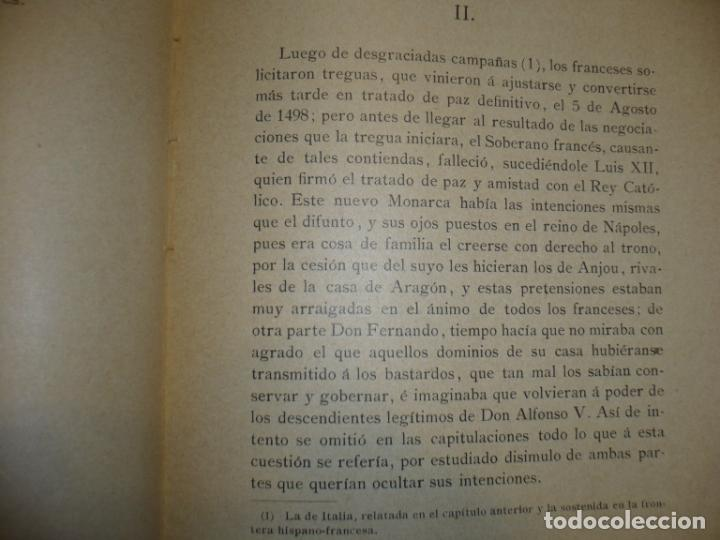 Militaria: CERIÑOLA (BOSQUEJO HISTORICO) A.DIAZ DE FREIJO 1902 MADRID - Foto 4 - 72077679