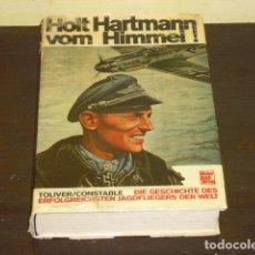 Militaria: HOLT HARTMNN VOM HIMMEL! (HOLT HARTMANN DESDE EL CIELO) 1970 -. Lote 72228979