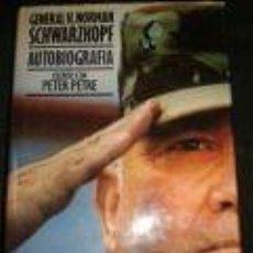 Militaria: GENERAL H. NORMAN SCHWARZKOPF -AUTOBIOGRAFIA- ESCRITO CON PETER PETRE- PLAZA&JANES 659 PÁGINAS. Lote 72357255