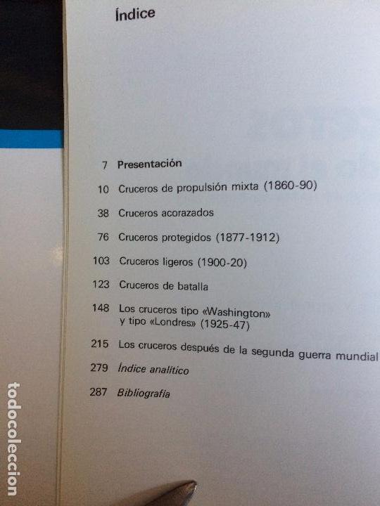 Militaria: CRUCEROS DE TODO EL MUNDO - GINO GALUPPINI - ESPASA-CALPE 1982 - Foto 3 - 72452739