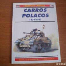 Militaria: OSPREY - CARROS DE COMBATE Nº 38: CARROS POLACOS. Lote 74707783