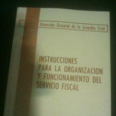 Militaria: GUARDIA CIVIL SERVICIO FISCAL. Lote 74762999