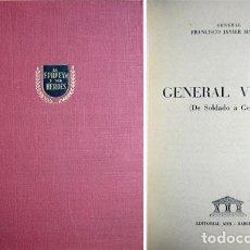 Militaria: MARIÑAS, FRANCISCO JAVIER. EL GENERAL VARELA. DE SOLDADO A GENERAL. 1956.. Lote 74941719