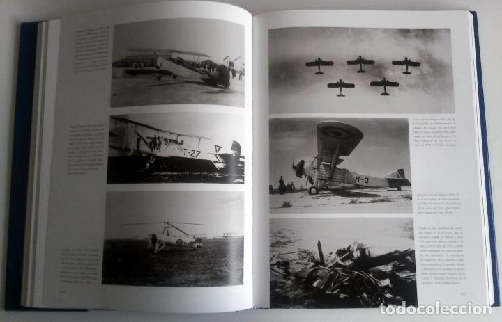 Militaria: LIBRO: PROA AL CIELO - IMAGENES DE LA AVIACION NAVAL ESPAÑOLA DESDE 1917. - Foto 2 - 76535423