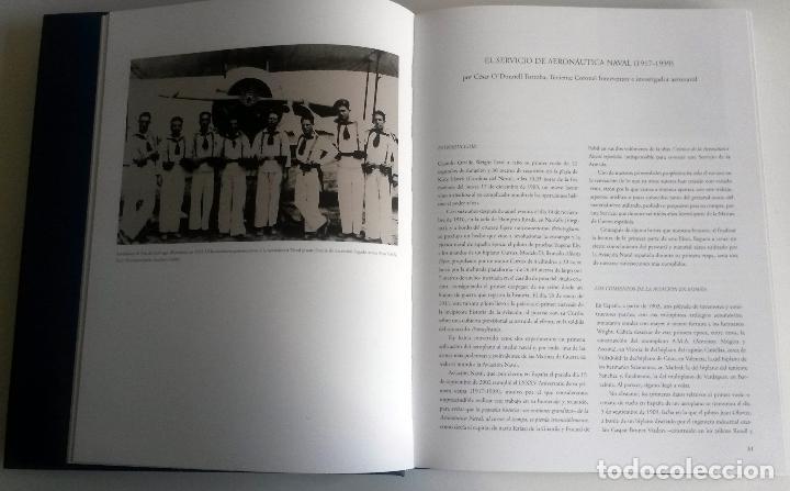 Militaria: LIBRO: PROA AL CIELO - IMAGENES DE LA AVIACION NAVAL ESPAÑOLA DESDE 1917. - Foto 3 - 76535423