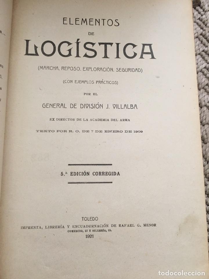 Militaria: Lote de libros militares antiguos (principios/mediados SXX) - Foto 6 - 76642573