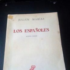 Militaria: LIBRO LOS ESPAÑOLES. FALANGE. GUERRA CIVIL. FALANGISTA. NACIONAL. FRANCO. FRANQUISTA. SINDICATO. CNS. Lote 76949181