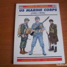 Militaria: OSPREY, CARROS DE COMBATE Nº 52: US MARINE CORPS (1941-1945). Lote 77589949