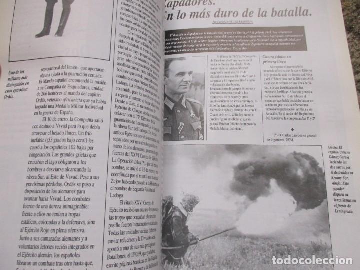 Militaria: LOS CINCUENTA AÑOS DE LA DIVISIÓN AZUL - VV. AA - EDI DEFENSA EXTRA Nº 16 1991 FOTOS B/N 64PAG. - Foto 2 - 77927325