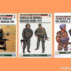 Militaria: LOTE 3 LIBROS DEL PRADO/OSPREY SERIE TROPAS DE ÉLITE (OCASIÓN). Lote 77967329
