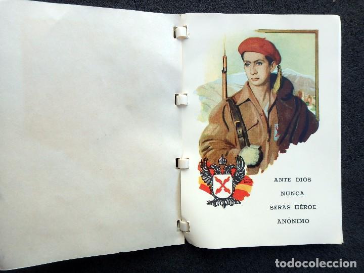 Militaria: (JX-170328) Ordenanza del Requeté,Carlismo,Guerra Civil.Ante Dios Nunca Seras Heroe Anónimo 7 pag. - Foto 2 - 78828549