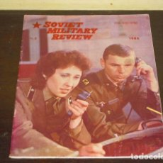 Militaria: SOVIET MILITARY REVIEW - 1986 -. Lote 79545005