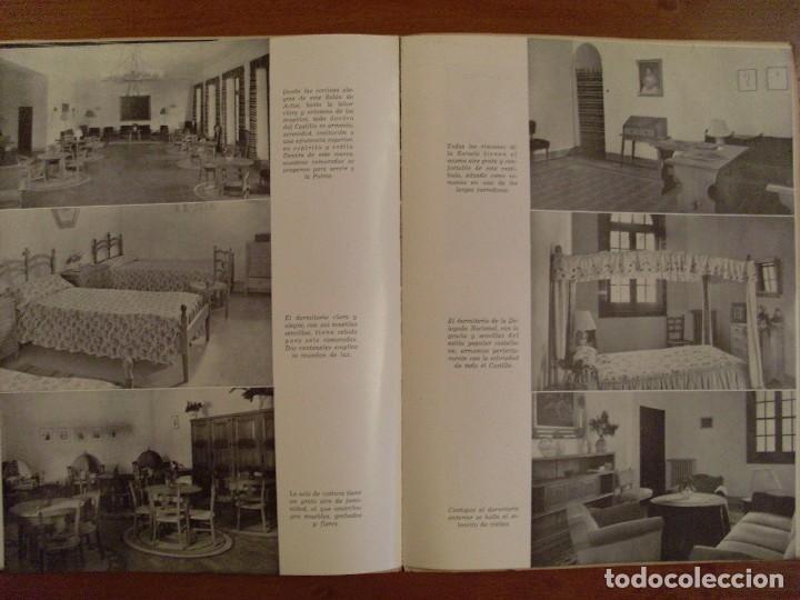Militaria: ESCUELA MAYOR DE MANDOS -JOSÉ ANTONIO- CASTILLO DE LA MOTA / 1951 - Foto 4 - 80642942