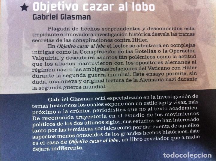 Militaria: LIBRO MEMORIAS DE LA 2ª GUERRA MUNDIAL: OBJETIVO CAZAR AL LOBO - HITLER, DE G. GLASMAN. ALTAYA, 2008 - Foto 4 - 81116600