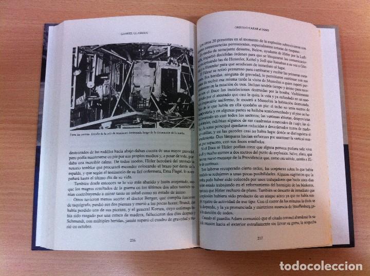 Militaria: LIBRO MEMORIAS DE LA 2ª GUERRA MUNDIAL: OBJETIVO CAZAR AL LOBO - HITLER, DE G. GLASMAN. ALTAYA, 2008 - Foto 9 - 81116600