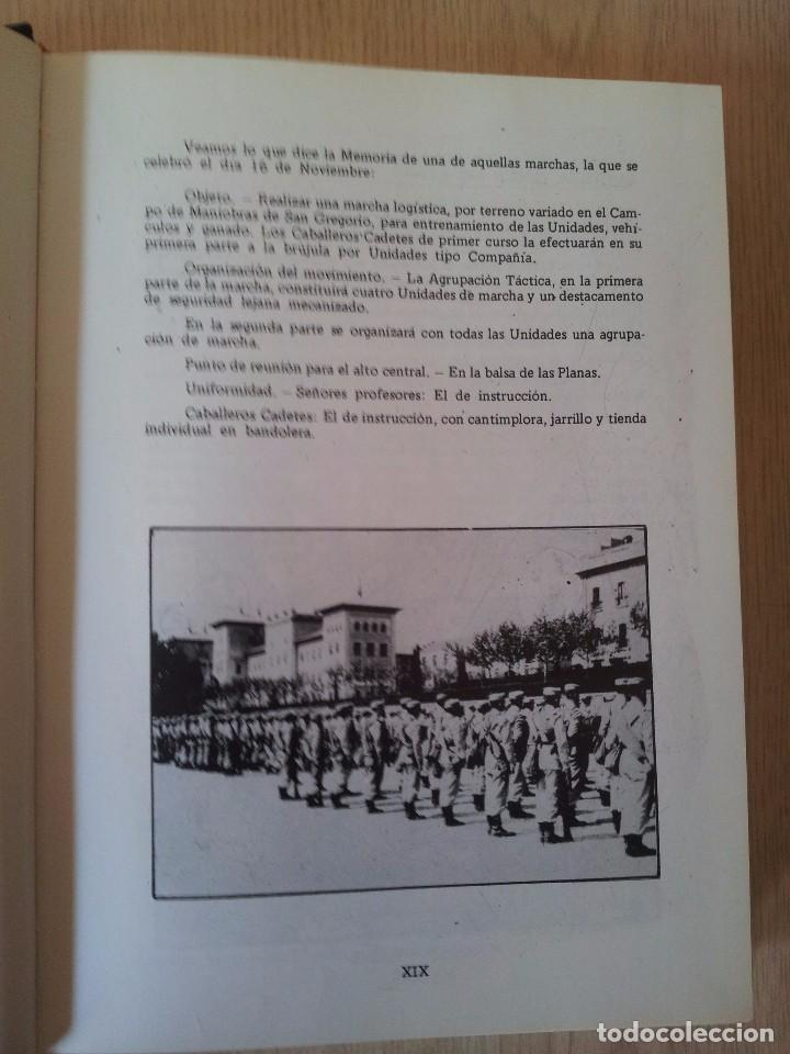 Militaria: ACADEMIA GENERAL MILITAR, BODAS DE PLATA XIX PROMOCION - ZARAGOZA 1960-1986 - Foto 3 - 81466144