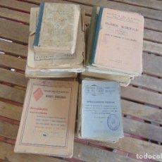 Militaria: LOTE DE LIBROS Y REVISTAS DE LA GUARDIA CIVIL ALGUNOS SELLADOS CARBONERAS SEÑALES DE USO. Lote 82456088