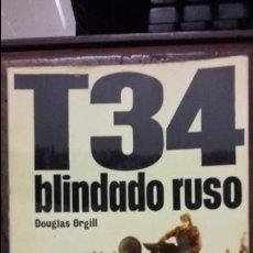 Militaria: T-34 BLINDADO RUSO. ED SAN MARTIN. Lote 137318860
