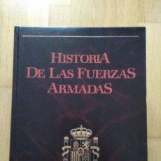 Militaria: HISTORIA DE LAS FUERZAS ARMADAS. 5 TOMOS.. Lote 82704372