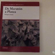 Militaria: OSPREY GRECIA Y ROMA. LAS GUERRA MÉDICAS I: DE MARATÓN A PLATEA. PHILIP DE SOUZA. Lote 83044860