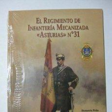 Militaria: EL REGIMIENTO DE INFANTERÍA MECANIZADA ASTURIAS Nº 31 BASE GOLOSO BRIGADA ACORAZADA GUADARRAMA XII. Lote 85102928