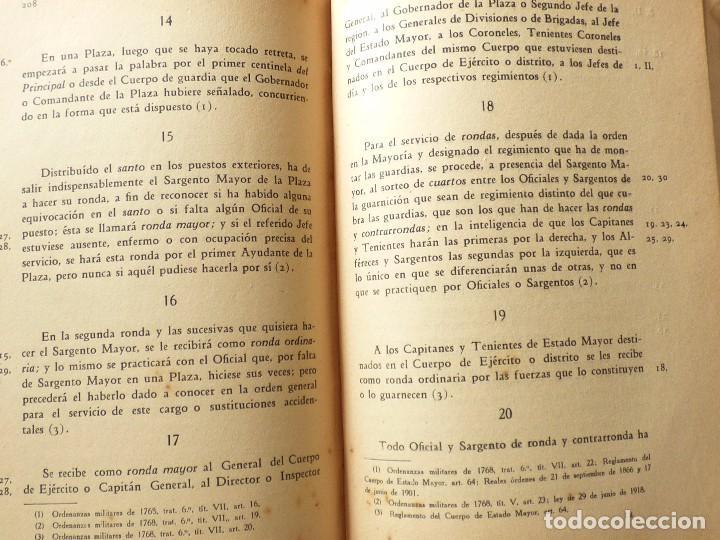 Militaria: ORDENANZAS DE LA ARMADA, ESCUELA NAVAL MILITAR. 1929. - Foto 4 - 85122768