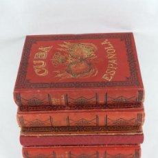 Militaria: LIBRO CUBA ESPAÑOLA. RESEÑA HISTÓRICA DE LA INSURRECCIÓN CUBANA EN 1895. POR REVERTÉR DELMAS, ILUSTR. Lote 85986716
