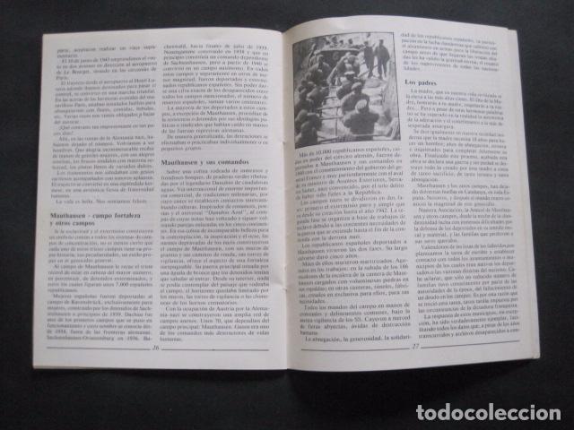 Militaria: 40 ANIVERSARIO FIN GUERRA Y LIBERACION CAMPOS EXTERMINIO NAZIS - VER FOTOS-(V- 10.944) - Foto 7 - 86158768