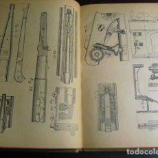 Militaria: 1937 MATERIAL DE ARTILLERIA PRIMERO Y SEGUNDO CURSO ESCUELA POPULAR DE INSTRUCTORES DE GUERRA. Lote 86225780