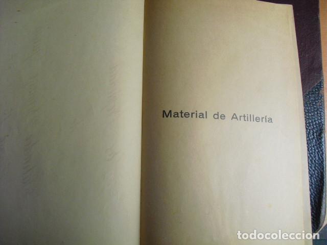 Militaria: 1937 MATERIAL DE ARTILLERIA PRIMERO Y SEGUNDO CURSO ESCUELA POPULAR DE INSTRUCTORES DE GUERRA - Foto 2 - 86225780