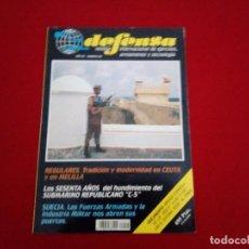 Militaria: REVISTA DEFENSA . REGULARES Y SUBMARINO C-5. Lote 86542204