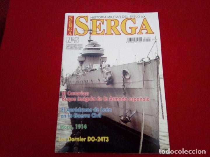 REVISTA SERGA N° 5. HISTORIA MILITAR (Militar - Libros y Literatura Militar)