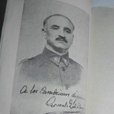 Militaria: LIBRO PRO CARABINEROS, SEVILLA ABRIL 1937, FOTOGRAFIA DE QUEIPO DE LLANO, INSPECTOR GENERAL DE CARAB. Lote 86920808