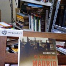 Militaria: EL ASEDIO DE MADRID - DAN KURZMAN . Lote 86943356