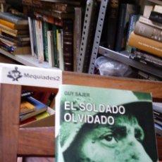 Militaria: EL SOLDADO OLVIDADO GUY SAJER , 2006 . Lote 86943780