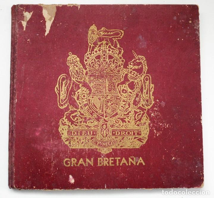 ALBUM DE HOMENAJE A LA GRAN BRETAÑA - EDITA REVISTA LICEO AÑO 1945 (Militar - Libros y Literatura Militar)