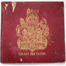 Militaria: ALBUM DE HOMENAJE A LA GRAN BRETAÑA - EDITA REVISTA LICEO AÑO 1945. Lote 87105808