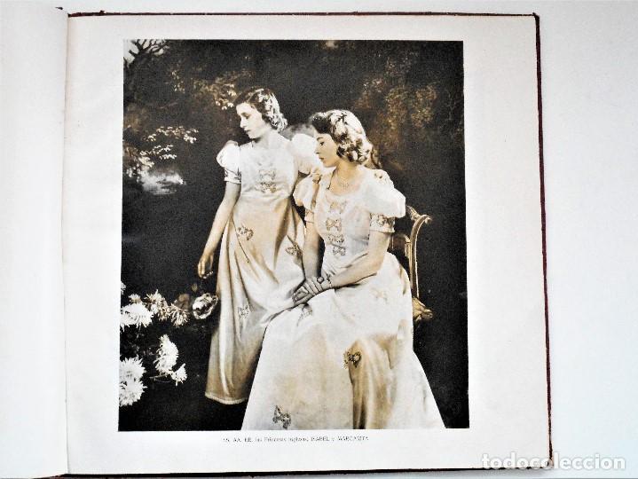Militaria: ALBUM DE HOMENAJE A LA GRAN BRETAÑA - EDITA REVISTA LICEO AÑO 1945 - Foto 7 - 143040598