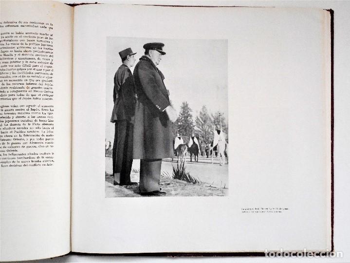 Militaria: ALBUM DE HOMENAJE A LA GRAN BRETAÑA - EDITA REVISTA LICEO AÑO 1945 - Foto 8 - 143040598